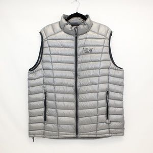 MOUNTAIN HARDWEAR Silver Down Blend Quilted Vest